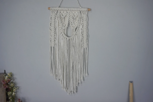 Create a Macramé Wall Hanging with a Crystal Classes By Rebecca Millar