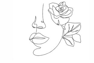 Face Beauty Embroidery Design By NinoEmbroidery