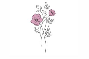Flower Bouquets & Bunches Embroidery Design By LizaEmbroidery