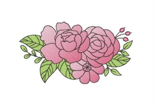 Flower Bouquets & Bunches Embroidery Design By NinoEmbroidery