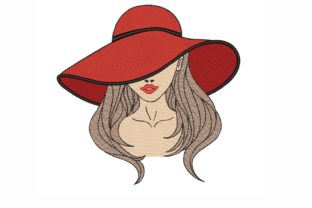 Girl Beauty Embroidery Design By LizaEmbroidery