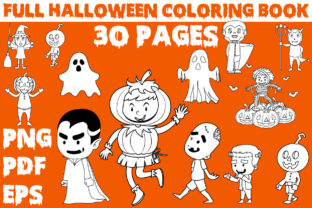 Print on Demand: HALLOWEEN COLORING BOOK for KIDS Graphic Coloring Pages & Books Kids By KDP INTERIOR DESIGN