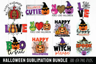 Halloween Sublimation Bundle Graphic Crafts By Beauty Crafts