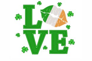Love St Patrick's Day St Patrick's Day Embroidery Design By LizaEmbroidery
