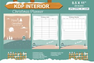 Print on Demand: Merry Christmas Planner KDP Interior Graphic KDP Interiors By edywiyonopp