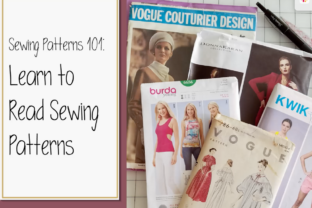 Print on Demand: Sewing Patterns 101: Learn to Read Sewing Patterns Classes By The American Seamstress