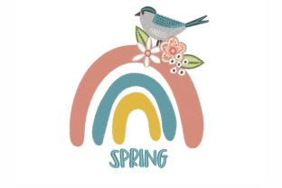 Spring Rainbow Spring Embroidery Design By NinoEmbroidery