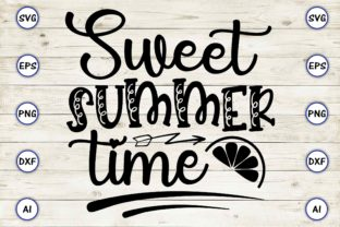 Sweet Summer Time Graphic Print Templates By Craftartdigital21