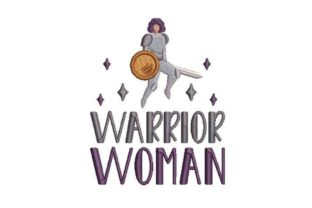 Warrior Woman Military Embroidery Design By Embroidery Designs
