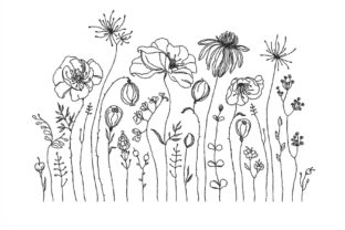 Wildflowers Bouquets & Bunches Embroidery Design By NinoEmbroidery