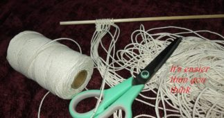 How to Make a Macramé Wall Hanging