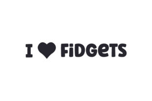 I Heart Fidgets Quotes Craft Cut File By Creative Fabrica Crafts