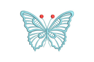 Butterfly Bugs & Insects Embroidery Design By Embroiderypacks