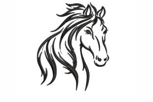 Horse Horses Embroidery Design By NinoEmbroidery