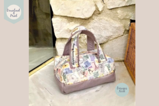 Print on Demand: Sewing Pattern, Mini Duffel Bag, 2 Sizes Graphic Sewing Patterns By DESIGNS NOOK 2