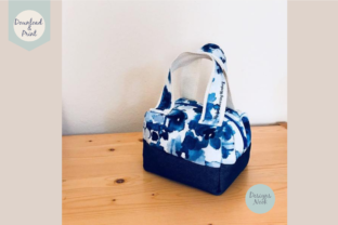 Print on Demand: Sewing Pattern, Mini Duffel Bag, 2 Sizes Graphic Sewing Patterns By DESIGNS NOOK 3
