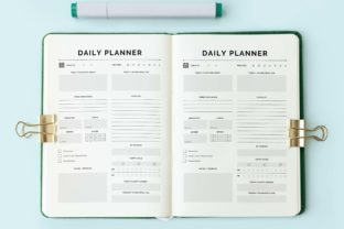 Print on Demand: 2022 Daily Planner Print Ready Best KDP Graphic KDP Interiors By DigitalMGoods