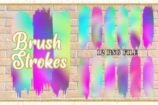 Brush Strokes Clipart, Sublimation Graphic Illustrations By Artnoy 1