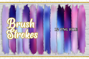 Brush Strokes Clipart, Sublimation Png Graphic Illustrations By Artnoy