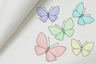 Butterflies Bugs & Insects Embroidery Design By Beautiful Embroidery
