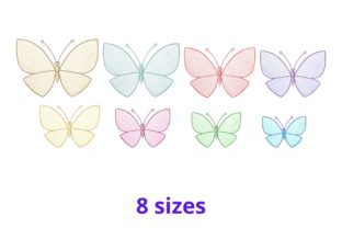 Butterfly Bugs & Insects Embroidery Design By Beautiful Embroidery