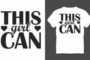 Girl Power Svg Design, This Girl is Graphic Print Templates By RK Studio