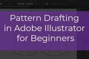 Print on Demand: Pattern Drafting in Adobe Illustrator for Beginners Classes By The American Seamstress