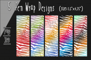 Print on Demand: Pen Wrap Sublimation Design Graphic Crafts By Kiang Stock Digiart