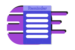 Planner Reminder Vector Graphic Icons By Graphic Idea
