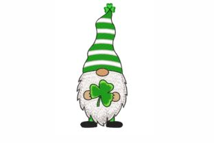St Patrick's Day Gnome St Patrick's Day Embroidery Design By LizaEmbroidery