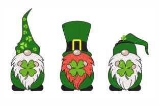 St Patrick's Day Gnomes St Patrick's Day Embroidery Design By LizaEmbroidery
