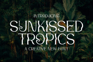 Print on Demand: Sunkissed Tropics Serif Font By Salt and Pepper Fonts