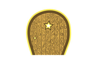 Layered Fairy Door Designs & Drawings Craft Cut File By Creative Fabrica Crafts