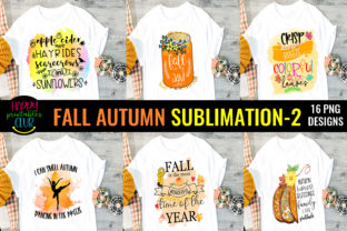 Fall Autumn Sublimation Bundle 2-Fall Graphic Crafts By Happy Printables Club