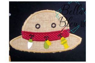 Fishing Hat Camping & Fishing Embroidery Design By Bella Bleu Embroidery