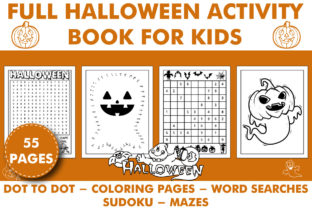 Print on Demand: HALLOWEEN ACTIVITY BOOK for KIDS Graphic Coloring Pages & Books Kids By KDP INTERIOR DESIGN