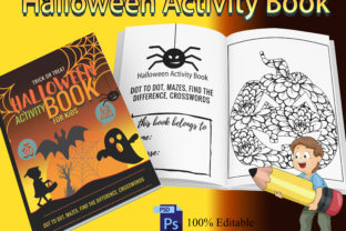 Print on Demand: Halloween Cover Template for Amazon Kdp Graphic KDP Interiors By Funnyarti
