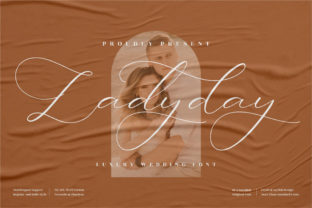 Print on Demand: Ladyday Script & Handwritten Font By perspectype