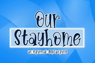 Print on Demand: Our Stayhome Serif Font By kateengciu