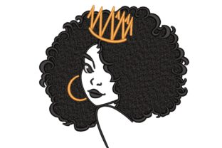 Queen Beauty Embroidery Design By NinoEmbroidery