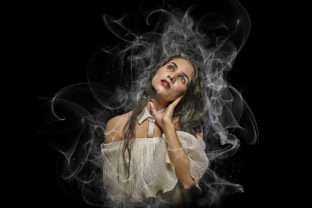 Realistic Smoke Photoshop Action Graphic Add-ons By hmalamin8952