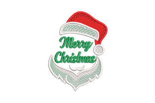 Santa Claus Merry Christmas Christmas Embroidery Design By Embroiderypacks
