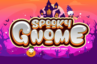 Print on Demand: Spooky Gnome Display Font By BB Digital Arts