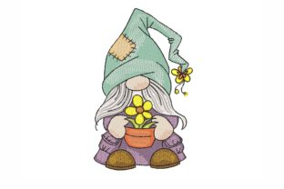 Summer Gnome Babies & Kids Embroidery Design By NinoEmbroidery