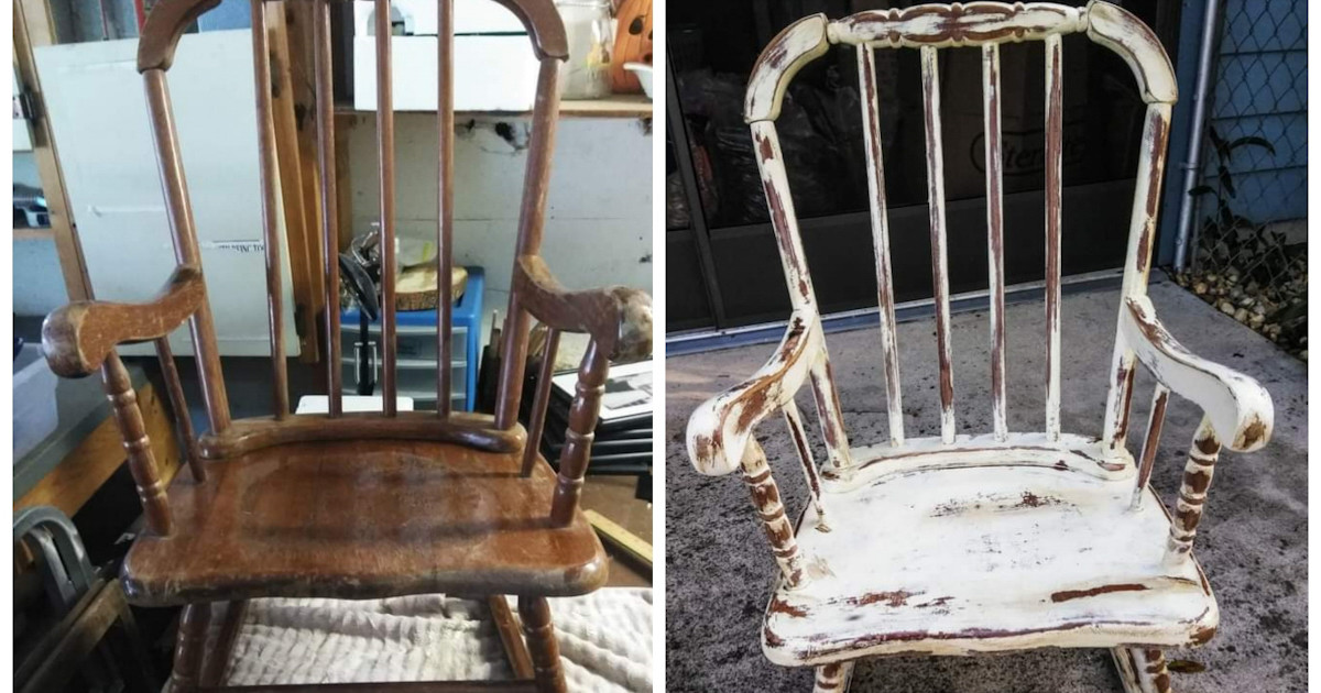 How to Use a Child's Rocking Chair in the Garden