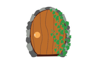 Fairy Door Designs & Drawings Craft Cut File By Creative Fabrica Crafts