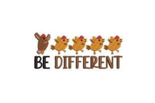 Be Different Inspirational Embroidery Design By Embroidery Designs