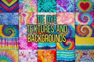 Print on Demand: Tie Dye Textures and Backgrounds Graphic Backgrounds By julienstore