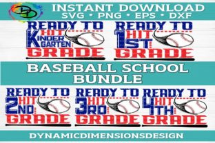 Print on Demand: Back to School Baseball Bundle Graphic Crafts By dynamicdimensions
