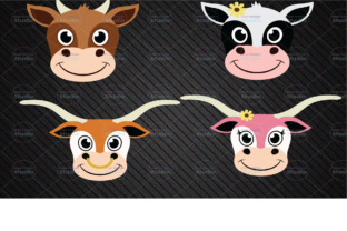 COW SVG/ Ox Svg/ Cattle Svg/ Cute Cow/ Graphic Graphic Templates By Tyleeijn Store